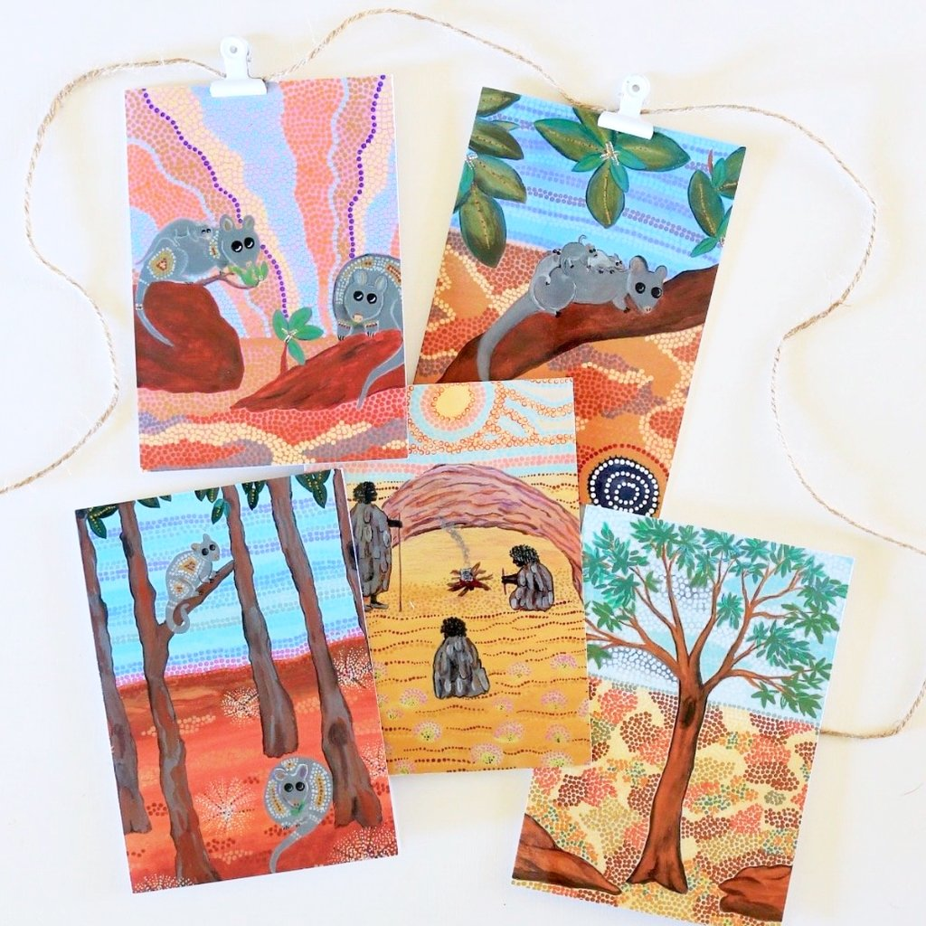 Indigenous Art Gift Cards (Pack of 5)