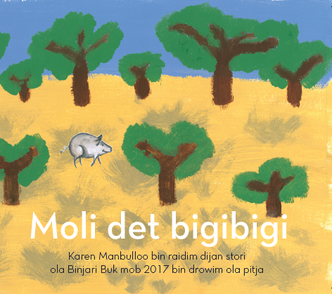 Moli det bigibigi (Molly the pig)
