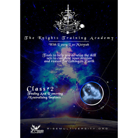 The Knights Training Academy: Class 2 - Finding & Removing/Neutralizing Implants (Workshop) MP4 Video