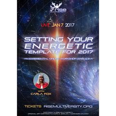 Setting Your Energetic Template For 2017