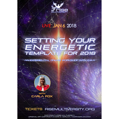 Setting Your Energetic Template For 2018