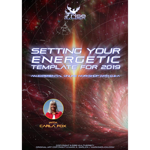 Setting Your Energetic Template For 2019