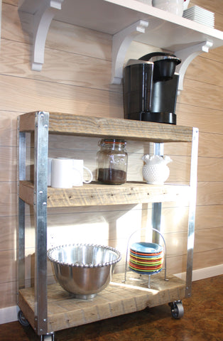 Custom Coffee Cart