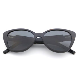 black cat eye sunglasses polarized