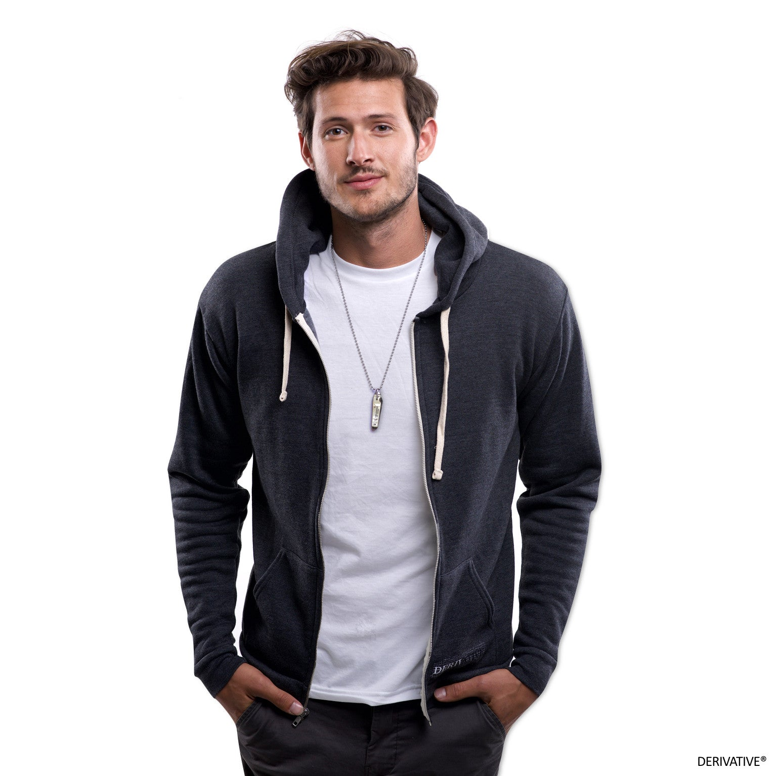eco friendly hoodie t-shirt & hoodie, cameron kolbo from mtv ayto second chances modeling derivative recycled clothing