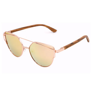 pink cat eye sunglasses polarized