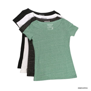 scoop necks women's t shirts & eco friendly fashion clothing apparel & accessories by derivative