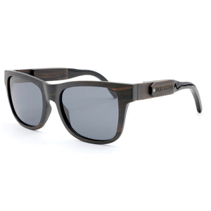 smoking sunglasses wooden shades