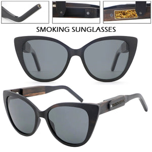 smoking sunglasses