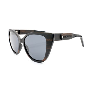 smoking sunglasses cat eye