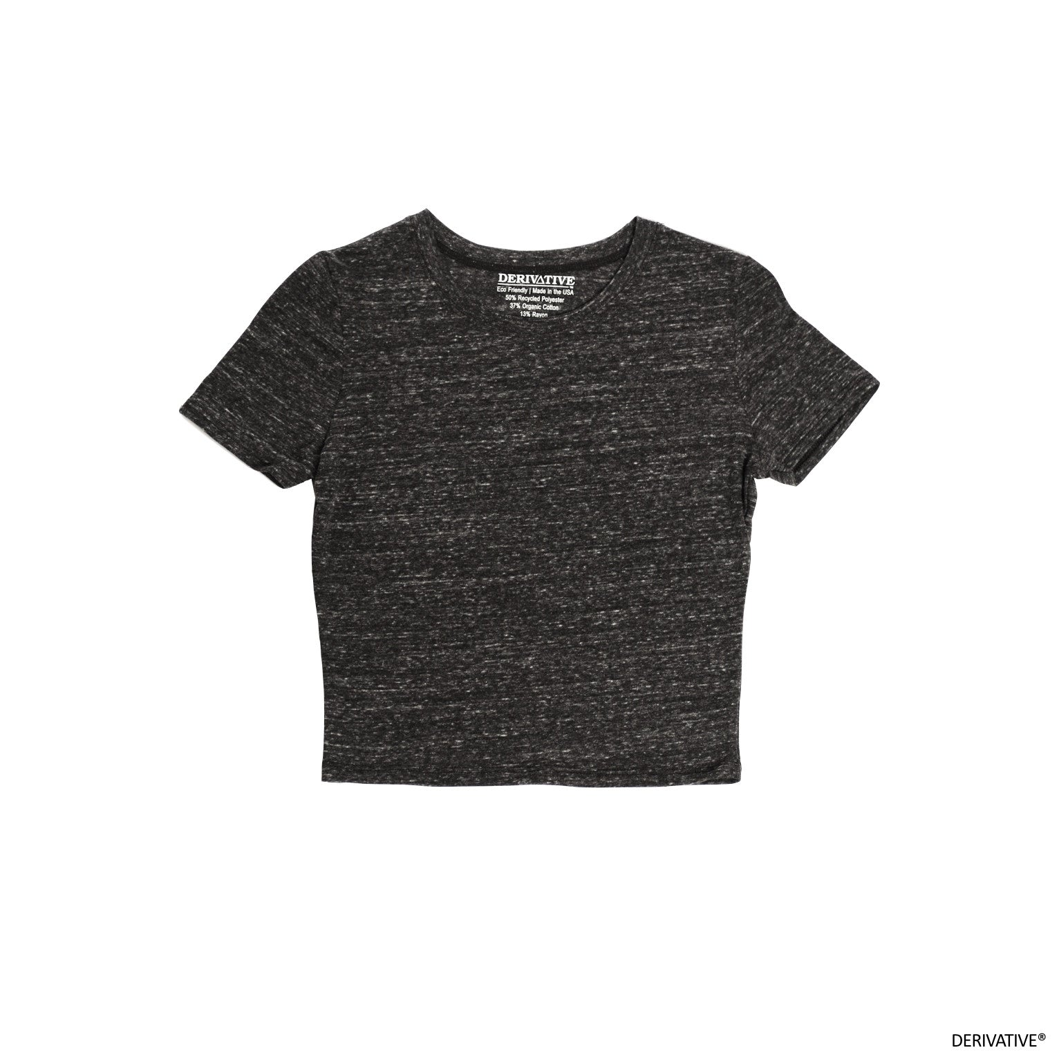 601ca507aa1 ... womens crop top t-shirt made from soft organic cotton & recycled  polyester from post