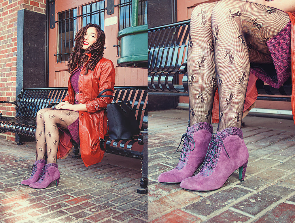 poetic licence shoes blog vintage suede boots