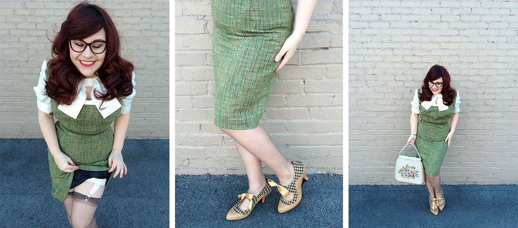 poetic licence shoes vintage fashion style tweed blog