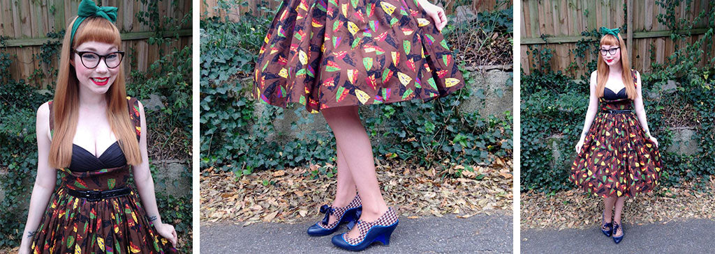 poetic licence shoes blog full skirts vintage style