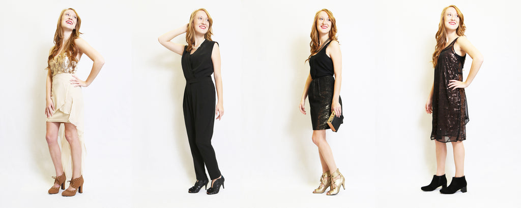 Check out these 4 festive holiday party looks from Poetic Licence!