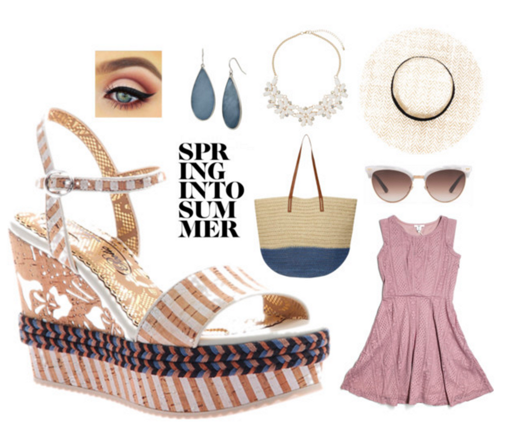 poetic licence shoes spring into summer blog polyvore