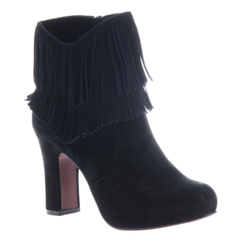 BOHO FANTASIES in BLACK Ankle Boots