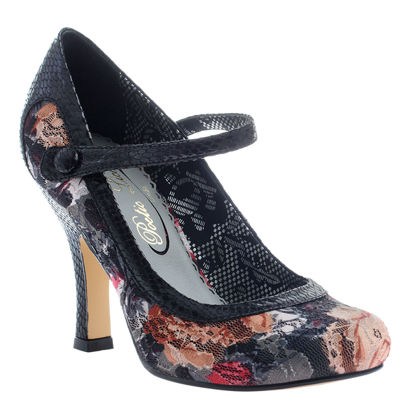 Poetic Licence, Feminine Encounters, Black, Mary jane pump