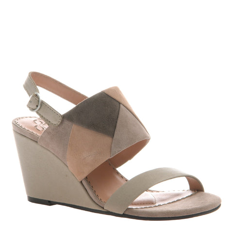FRAME in CEMENT Wedge Sandals