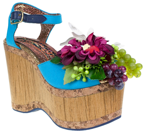 Irregular Choice, French Vila, Platform sandal