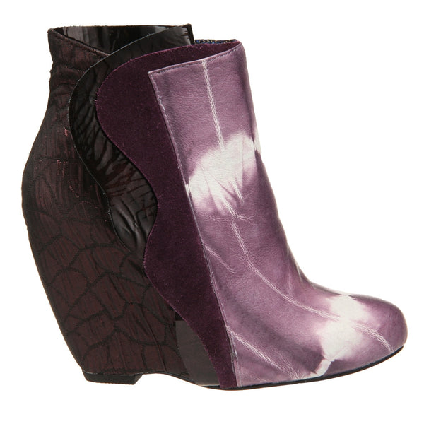 Irregular Choice, Motherly Love, Purple, Wedge bootie