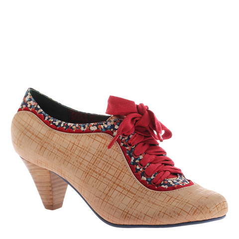 Poetic Licence, Whiplash, Desert Camel, Vintage heel with sating bow tie