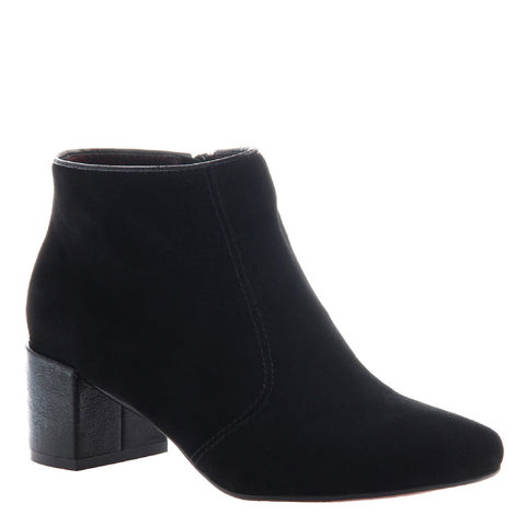 Poetic Licence, Toung in Cheek, Black, Square heel bootie