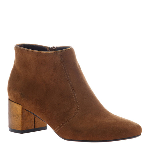 Poetic Licence, Toung in Cheek, Honey, Square heel bootie
