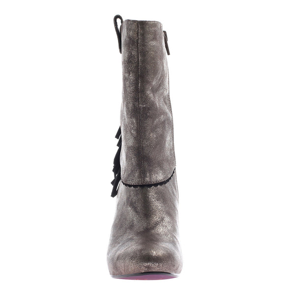 PURE AND EASY in DIRTY GREY Mid-Shaft Boots