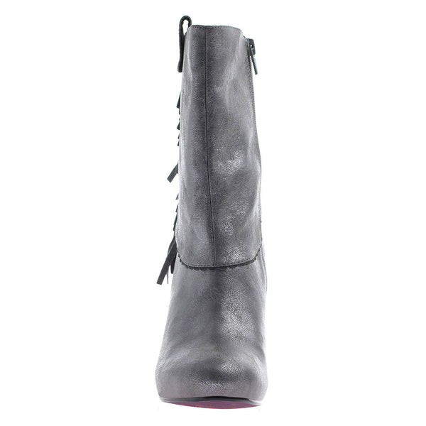 PURE AND EASY in PEWTER Mid-Shaft Boots