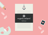 Anchor Magnetic Notepad