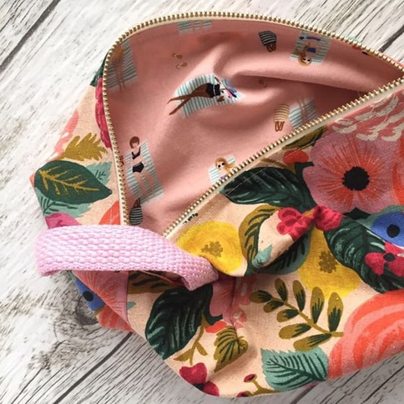 Pink Floral Lifestyle Bag