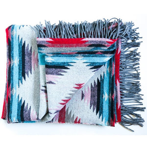'Athabasca' Recycled Wool Blanket (Only 1 Left!)