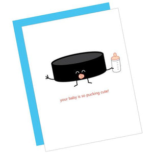 Pucking Cute Baby Card