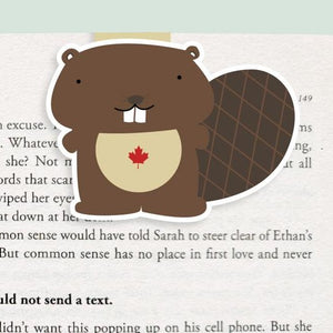 Beaver Magnetic Bookmark