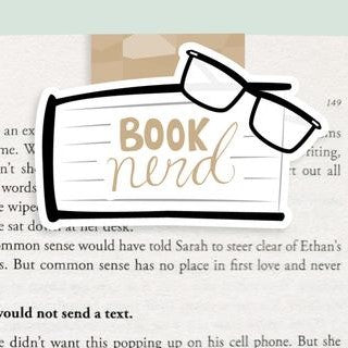 Book Nerd Magnetic Bookmark