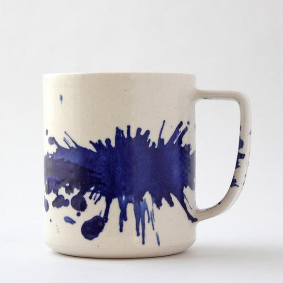 Handmade Ceramic Splash Mug