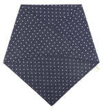 Denim Polka Dot Dog Bandana