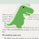 Tea-Rex Magnetic Bookmark