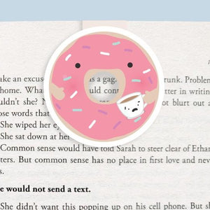 Donut Magnetic Bookmark