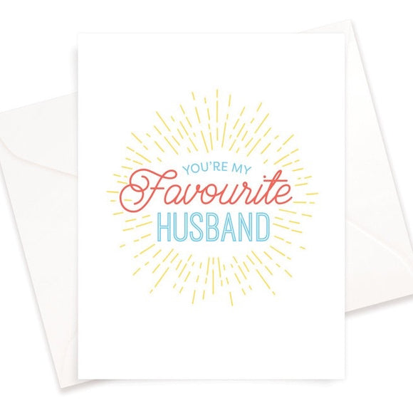 Fave Hubby Card