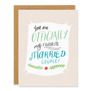 Favorite Married Couple Card