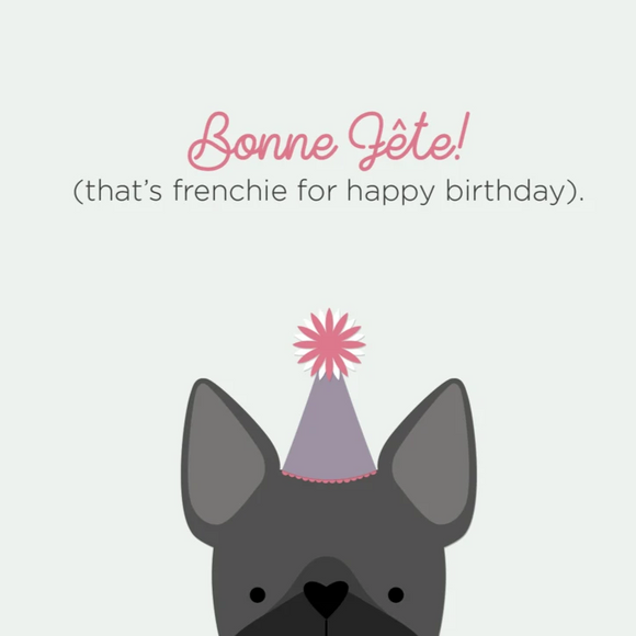 Frenchie Birthday