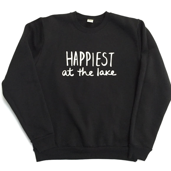 Happiest at the Lake - Unisex Adult Sweatshirt