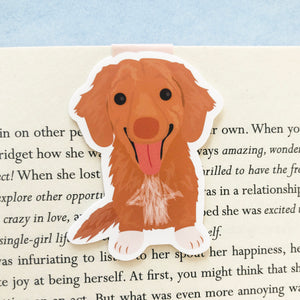 Lenny The Toller Magnetic Bookmark