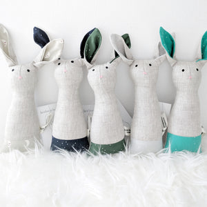 Heirloom Bunny Rattle