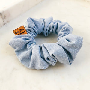 Light Chambray Scrunchie