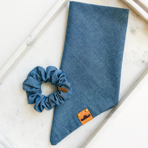 Dark Chambray Bandana Bestie Set