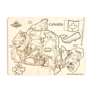 Canadian Map Puzzle