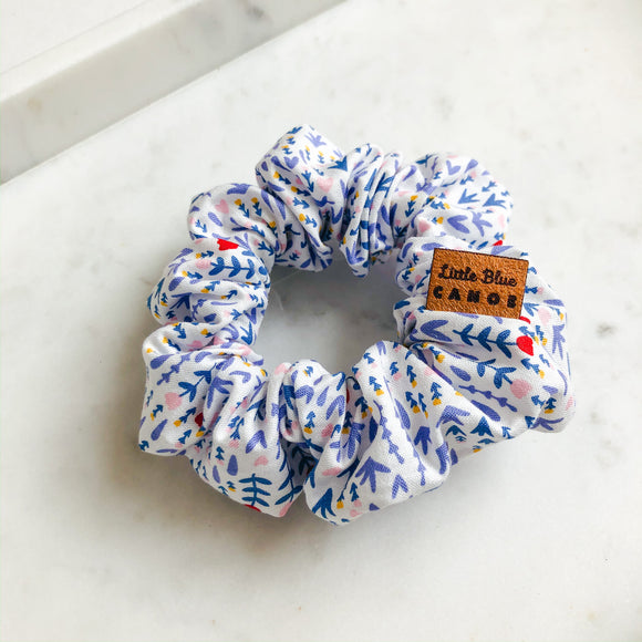 Summer Floral Scrunchie
